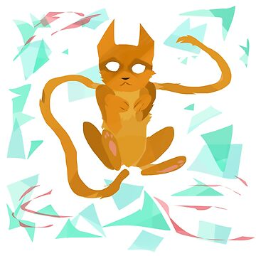 Geometry Cat by icelus