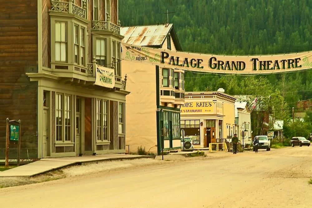 Queen Street in Dawson City by Yukondick