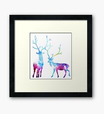 My Deer Universe Framed Print