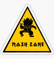 Metal Mosh Zone Sticker