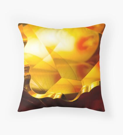 Entrusted Wings Throw Pillow