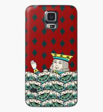 Red King Overboard Case/Skin for Samsung Galaxy