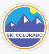 Ski Colorado Badge Sticker