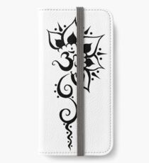 Rising Om - Onyx iPhone Wallet/Case/Skin