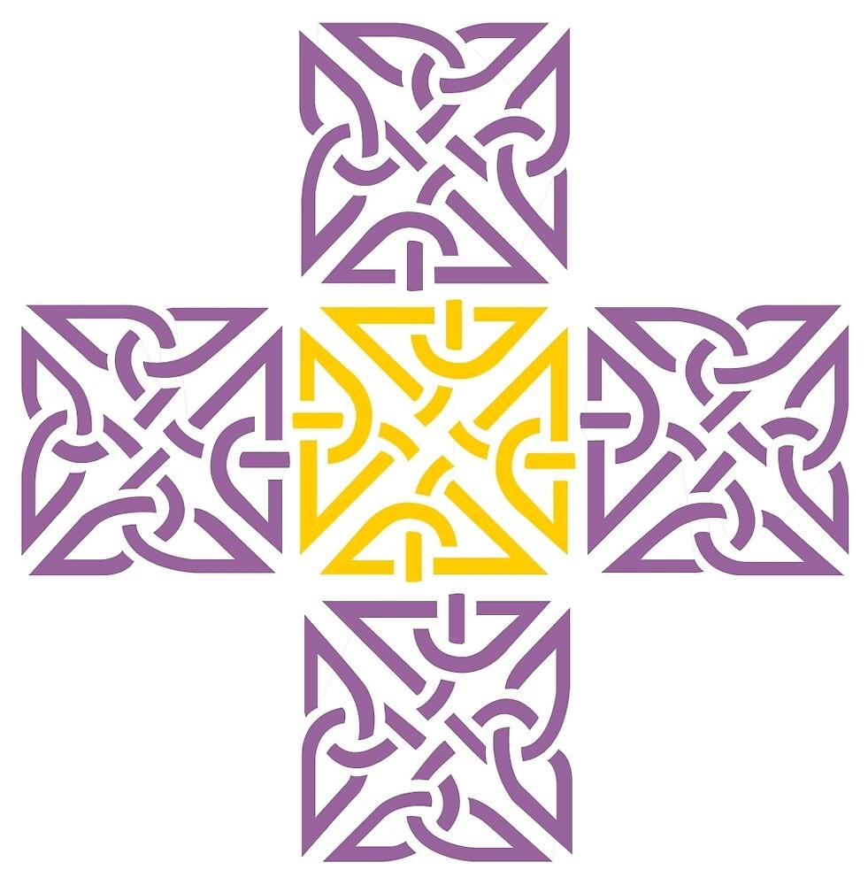 Cubic Cross by CatholicSaints