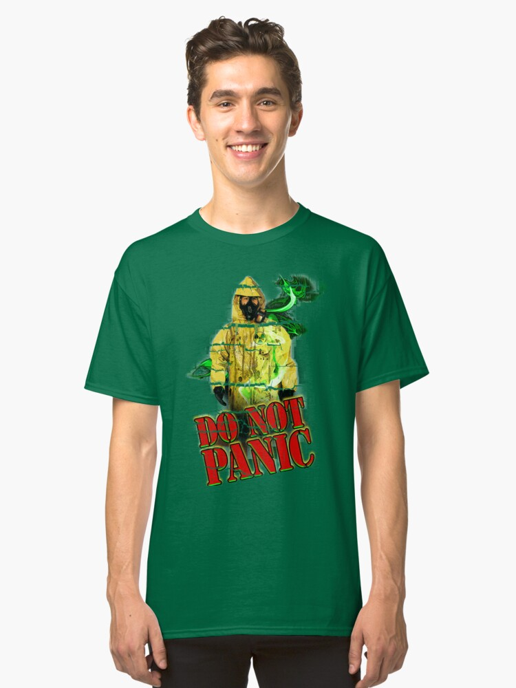 DO NOT PANIC Classic T-Shirt Front