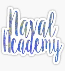Naval Academy Sticker