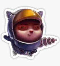 Astronaut Teemo  Sticker