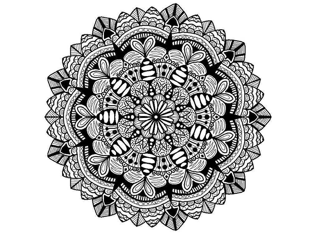 Mandala Design  by LauraSeaward