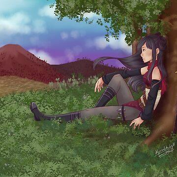 ncoll36 Commission   Ninja by Gossamer1323