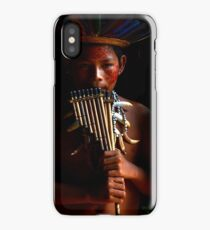 Boy Of The Amazon iPhone Case