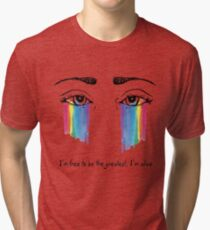 Sia the greatest Tri-blend T-Shirt