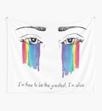 Sia the greatest Wall Tapestry
