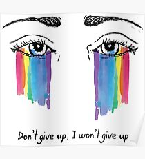 Sia the greatest - don't give up Poster