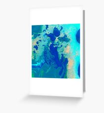 PLANET PERSPECTIVES Greeting Card