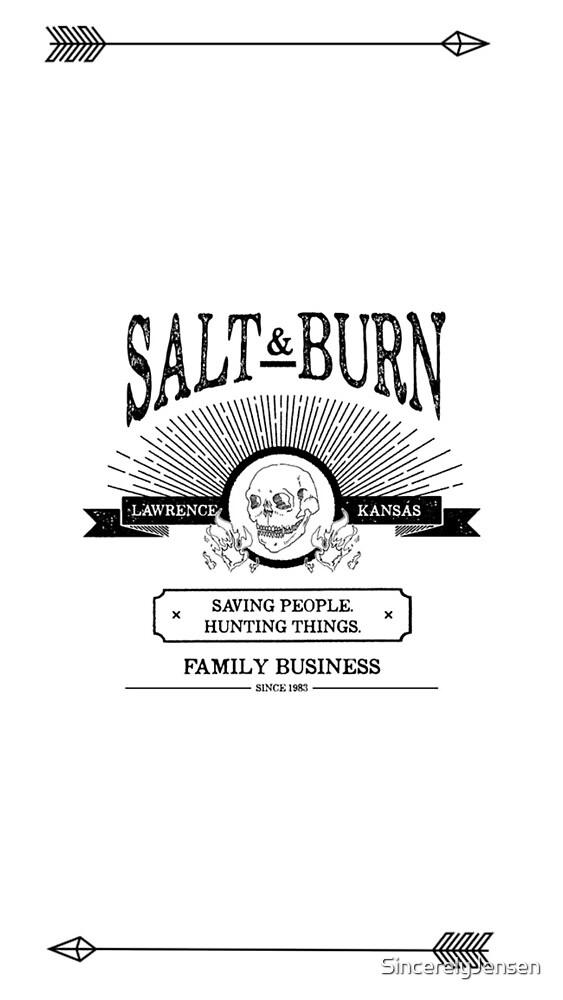Supernatural Salt and Burn. by SincerelyJensen