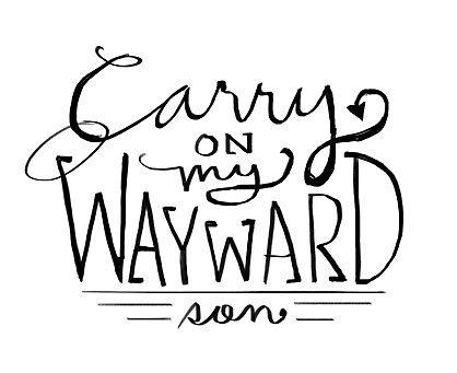 Carry On My wayward son. by SincerelyJensen
