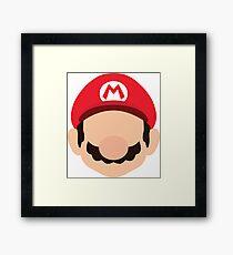 Mario - Nintendo Framed Print