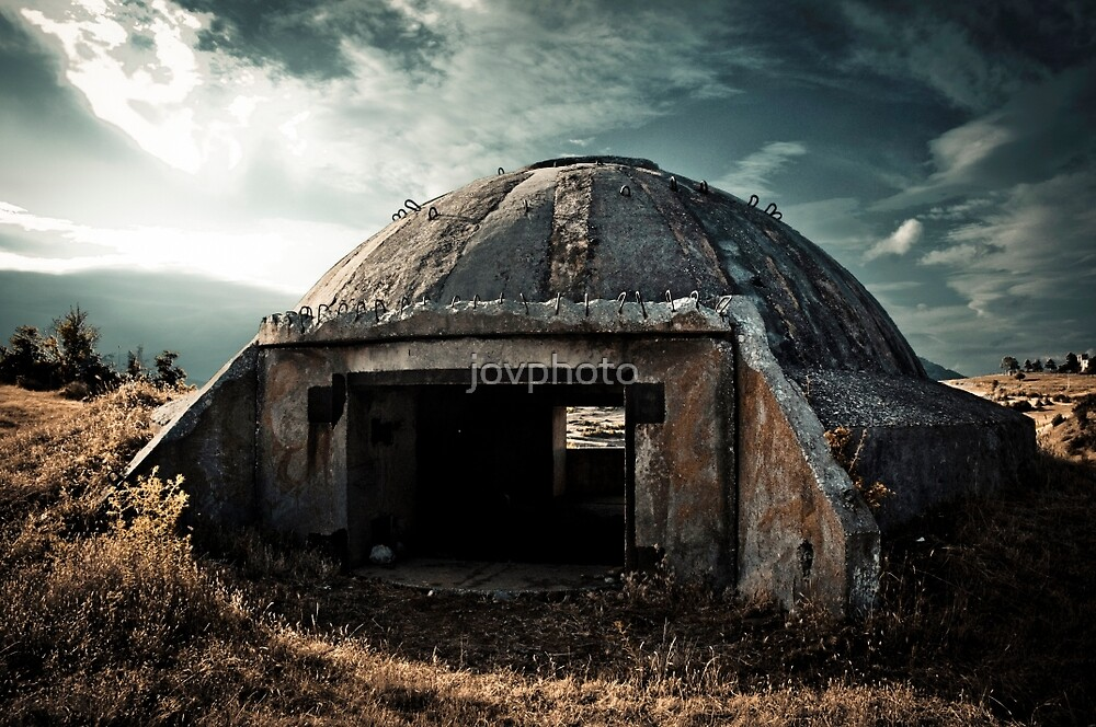 WW2 Bunker - Macedonia by jovphoto