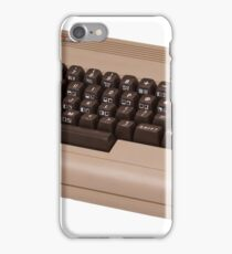 Commodore 64 - C64 - Vintage Home Computer - 8 Bit Classic iPhone Case/Skin