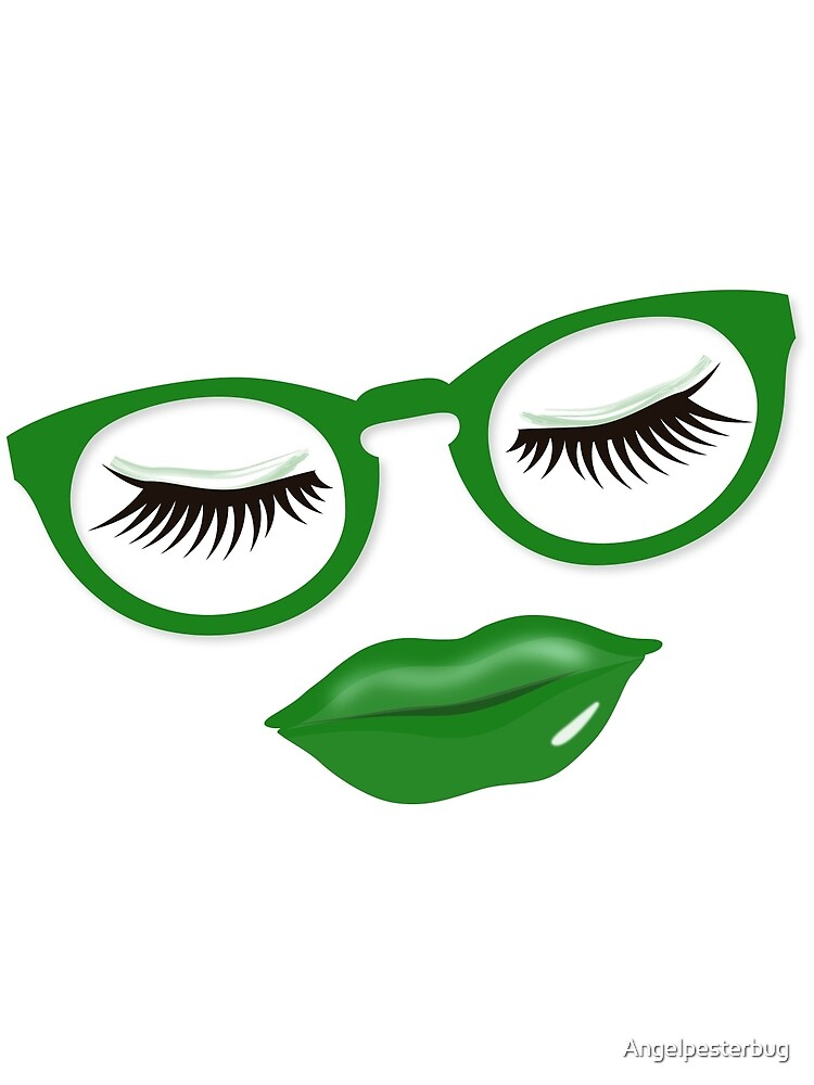 Glasses Are Pretty in Green by Angelpesterbug