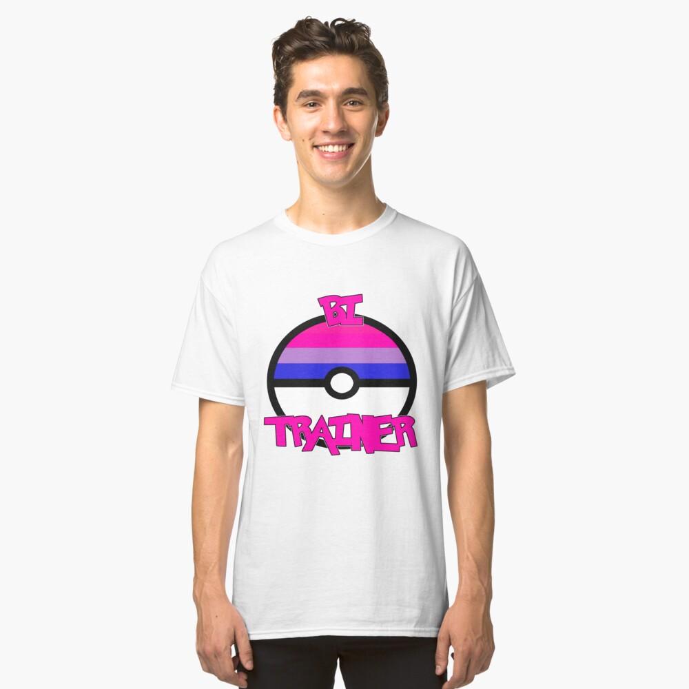 Pokemon - Bi Trainer Classic T-Shirt Front