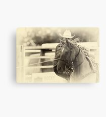 The Cowboy Way Metal Print
