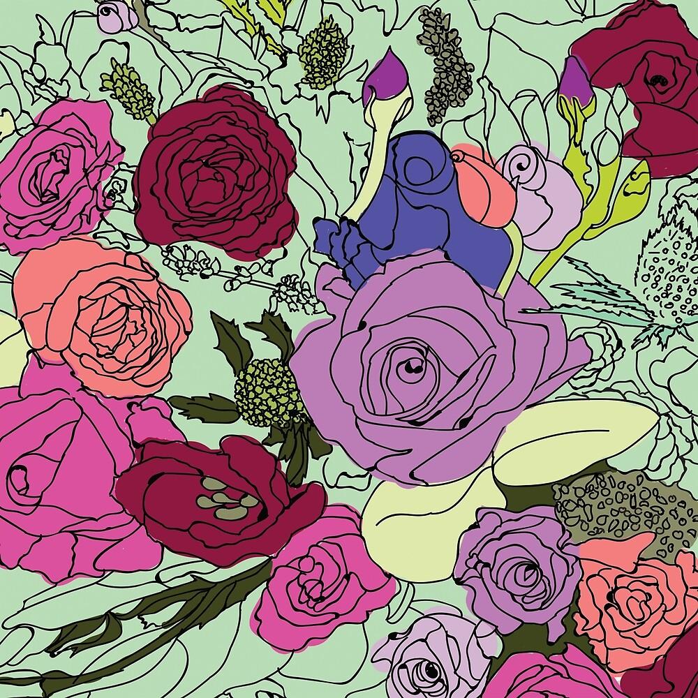 Flowers Bouquet by JihanMv