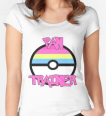 Pokemon - Pan Trainer Women's Fitted Scoop T-Shirt