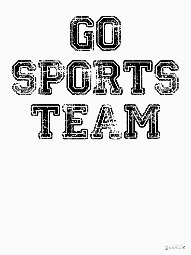go sports team by geekibiz