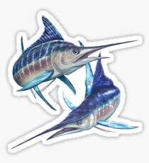 Striped Marlin Sticker
