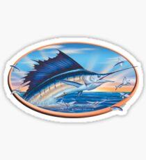 Sailfish Sunrise Sticker