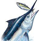 Black Marlin & Tuna by David Pearce