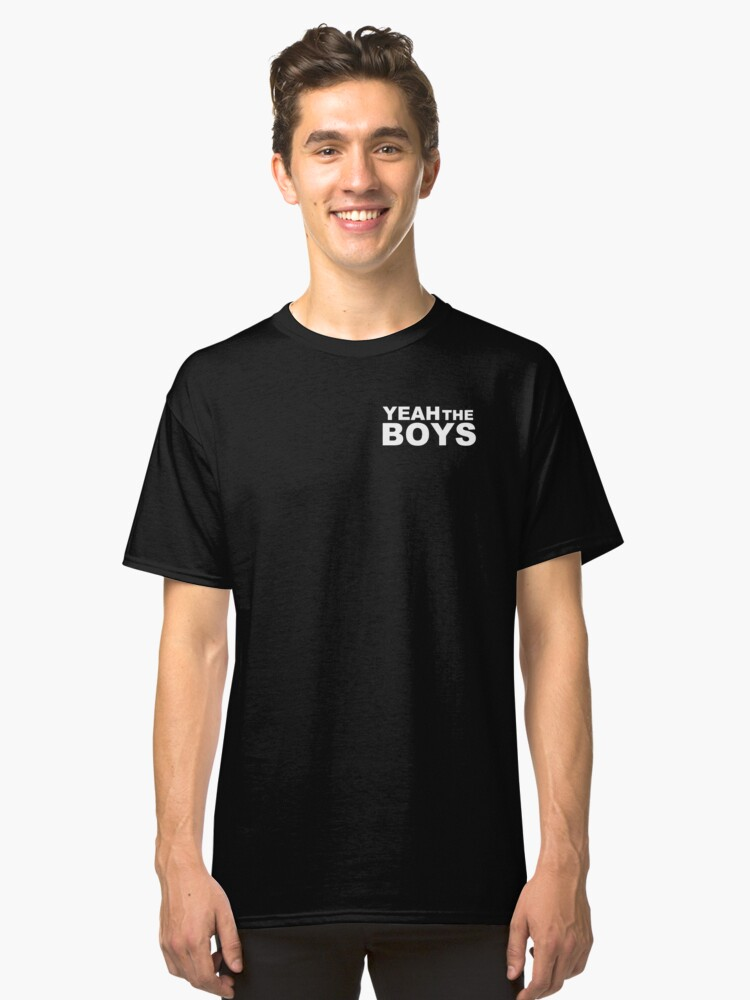 Yeah The Boys - Pocket Classic T-Shirt Front