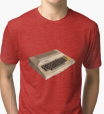 Atari 800 - Classic 8 Bit Computer - Retro 80s Tri-blend T-Shirt