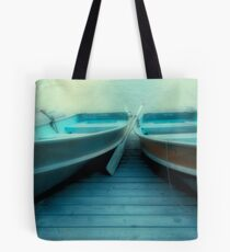 Row Boats At Pyramid Lake Tote Bag