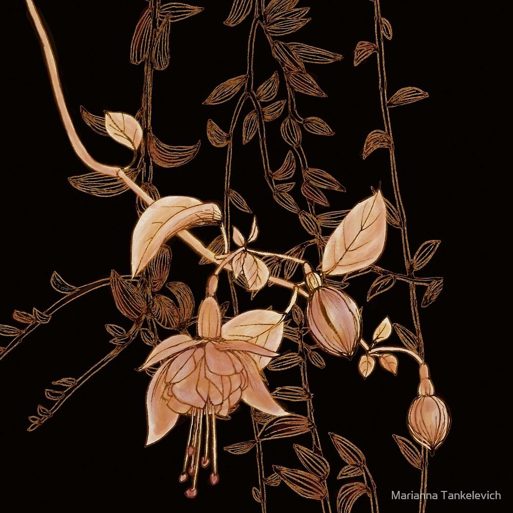 golden botanics by Marianna Tankelevich