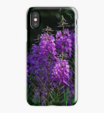 Purple Fireweed Jasper Canada iPhone Case