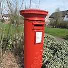 Huntingdon Postbox by CreativeEm