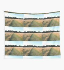 Golden Grasses: Path of Dreams Wall Tapestry