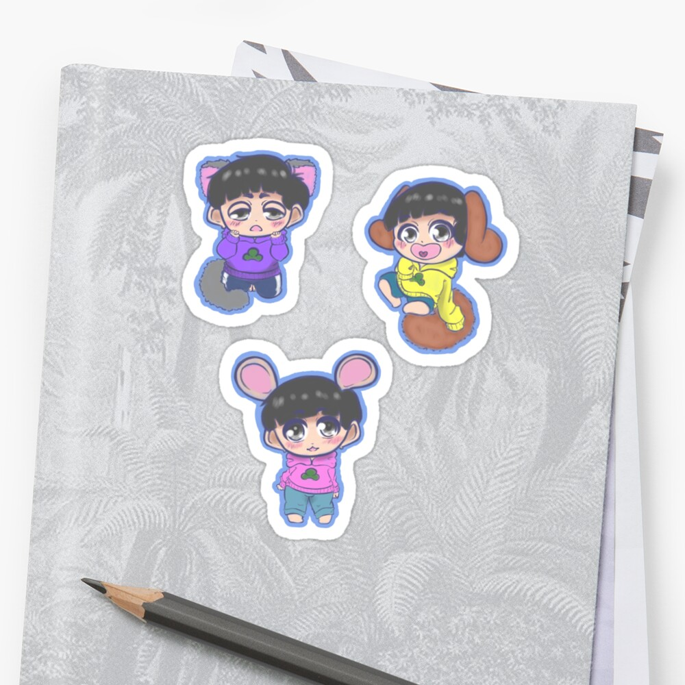 Osomatsu Animal set by JellySpace