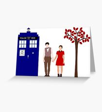 Clara and Eleven Greeting Card