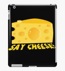 Say Cheese! iPad Case/Skin