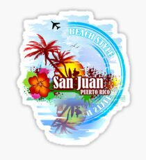 San Juan Puerto rico Sticker