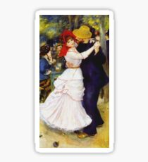 Renoir Auguste - Dance At Bougival 1883 Sticker