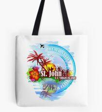 St. John U.S. Virgin Island Tote Bag