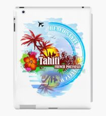 Tahiti french Polynesia iPad Case/Skin