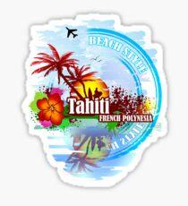 Tahiti french Polynesia Sticker