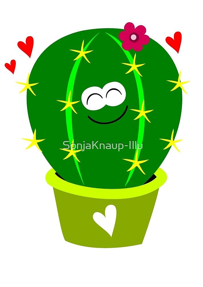 Kaktusse1 by SonjaKnaup-Illu