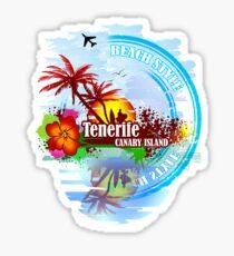 Tenerife Canary Island Sticker